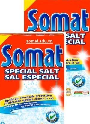 Muối rửa bát somat nhập khẩu 2,4 kg giá rẻ