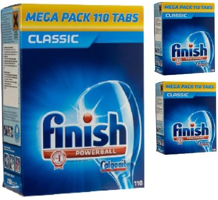 bột rửa chén finish chuyên dùng cho máy