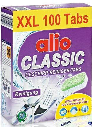viên rửa bát alio chén, bột rửa chén alio, muối rửa bát alio chuyên dùng cho máy rửa bát chén