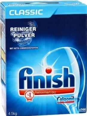 bột rửa bát finish