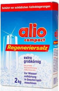 Xử lý lắng cặn đã có muối rửa chén chuyên dùng alio compact chính hãng