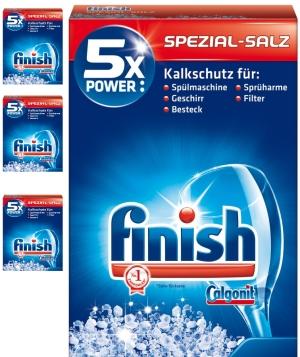muối rửa bát finish chuyên dùng cho máy rửa bát nhập khẩu, muối rửa bát finish giá rẻ