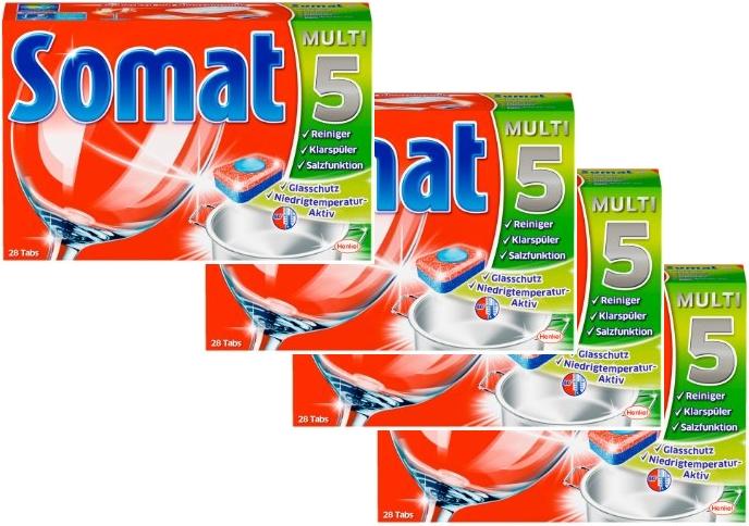 viên rửa bát Somat Made in Germany 112 viên