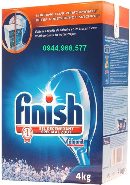 muối rửa bát finish 4kg loại to giá rẻ nhất