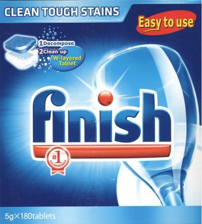 viên rửa bát finish 180 viên chuyên dùng cho máy rửa bát