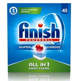 Finish rửa chén bứt phá với bao bì mới giá khuyến mại cực lớn