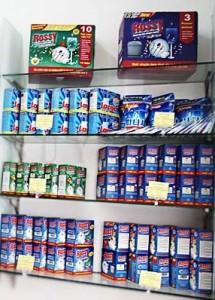 Chuyên sản phẩm phẩm rửa chén dạng viên rossy giá giảm sốc mùa hè này
