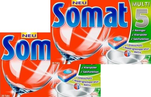 viên rửa bát somat multi 5 nhập khẩu đức 56 viên