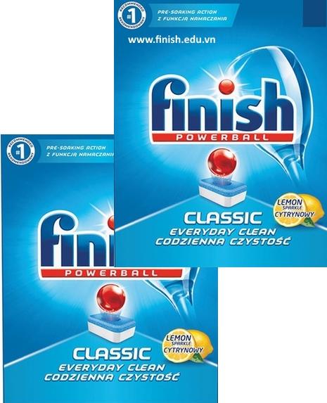 viên rửa bát finish nhập khẩu châu âu 160 viên loại tiết kiệm nhất