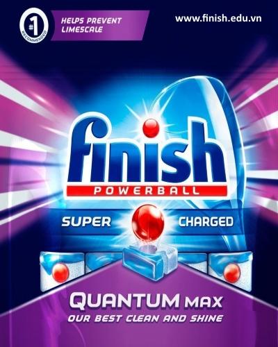 viên rửa bát finish quantum nk đức 57 viên