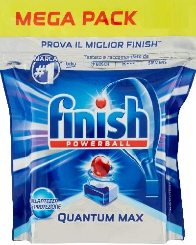 viên rửa bát cao cấp finish quantum max dùng cho máy rửa bát chén 90 viên